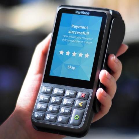 Mobil betalingsterminal V400m